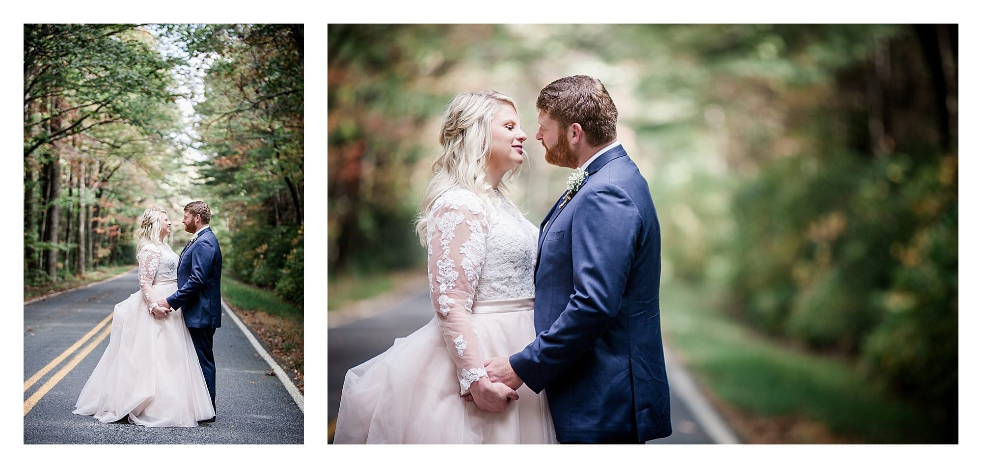 Gorgeous fall pictures bride and groom