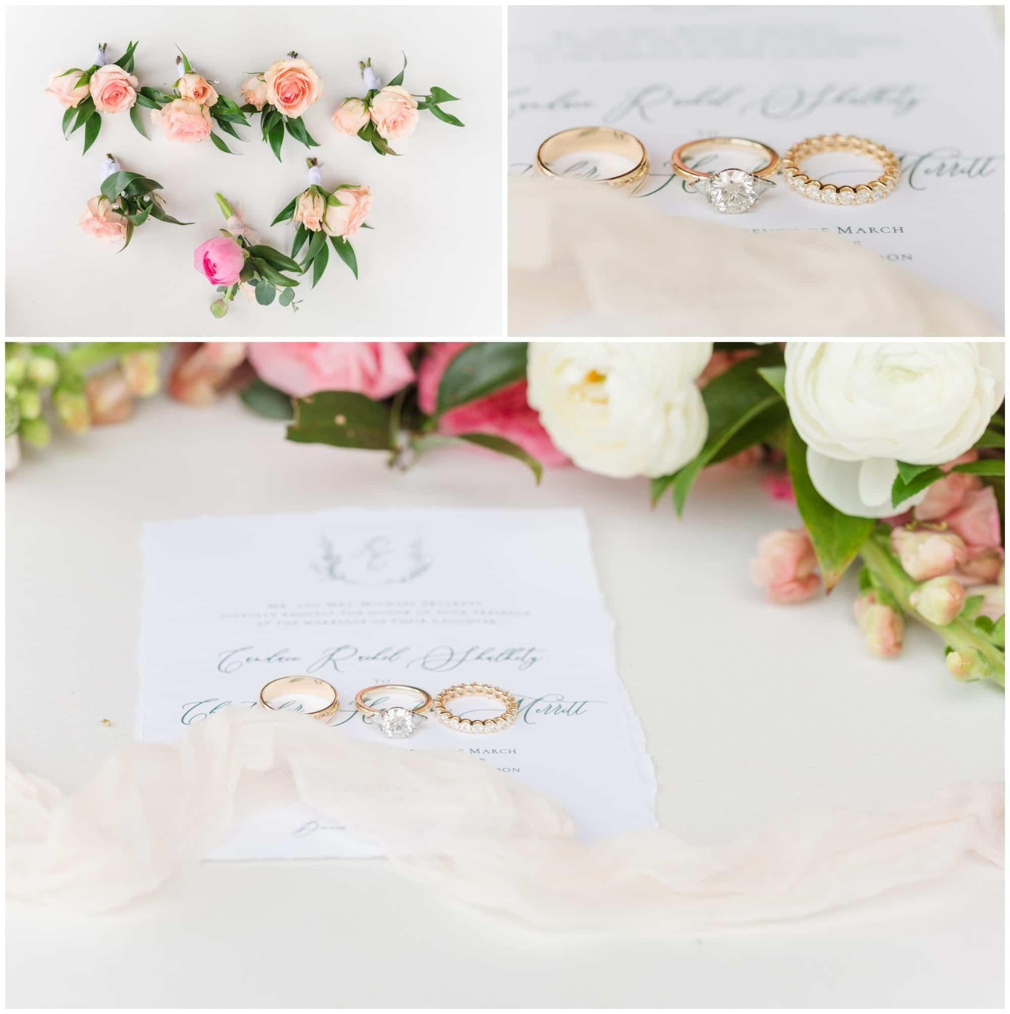 Detail Photos at Wedding