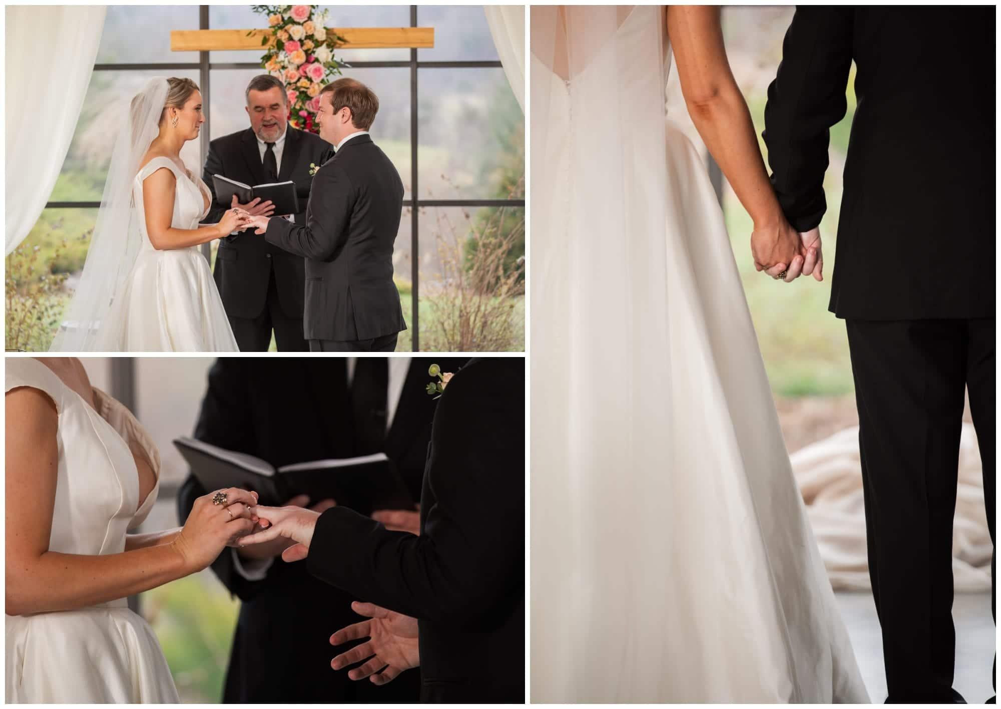 Exchange of Rings at Wedding