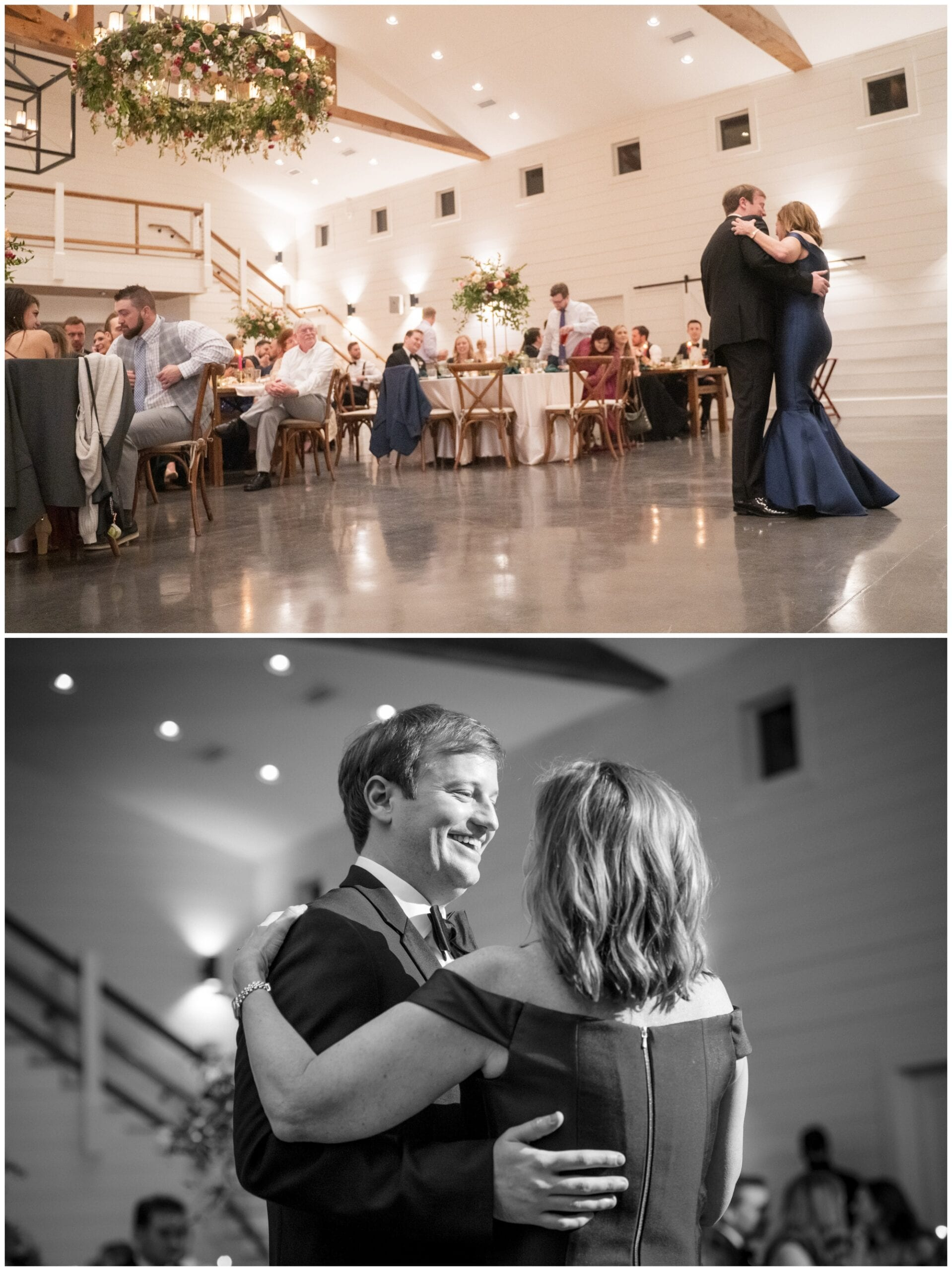 First dance with mom at Chestnut Ridge