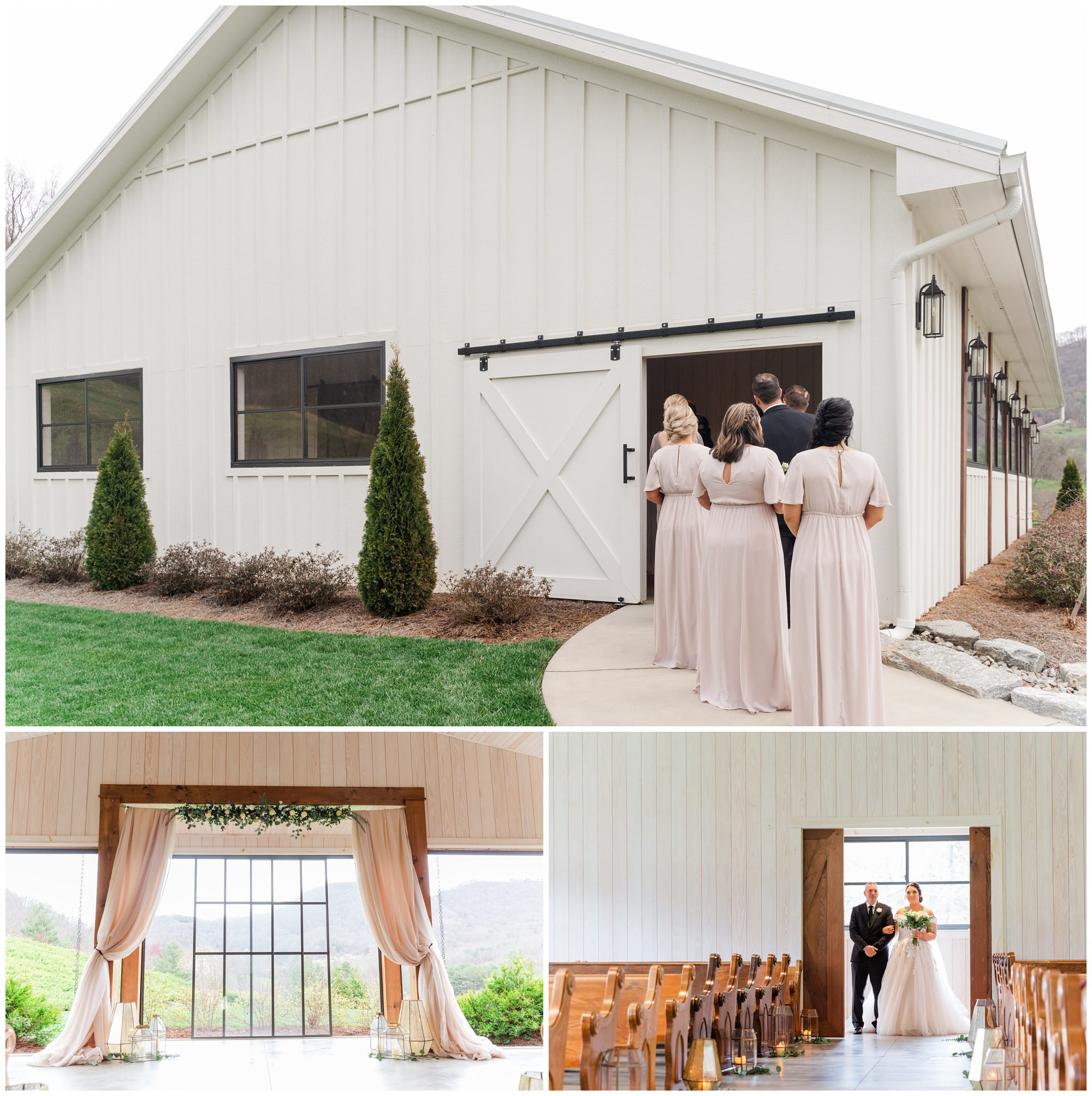 ceremony pavilion at chestnut ridge
