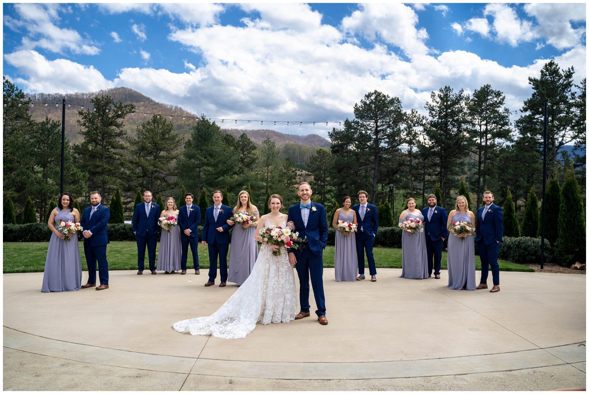 Mountain View Wedding in  NC